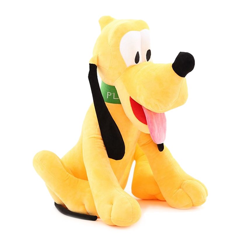 1pc Cute 30cm Pluto Plush Toys Goofy Dog Donald Duck Daisy Duck Friend Pluto Stuffed Doll Toys Children Kids Gift Free Shipping
