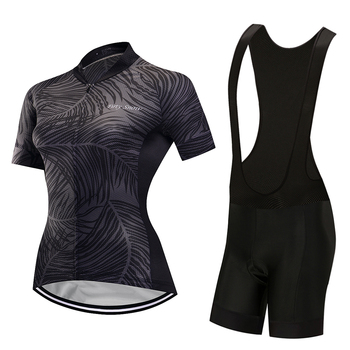 Rapidamente seco roupas bicicleta 2019 das mulheres camisa de ciclismo kit calças gel pad mallot mtb bicicleta skinsuit roupas conjunto vestido terno desgaste