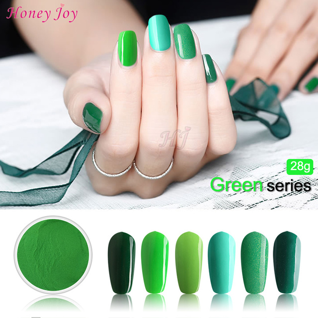 9cb086c84afa Very Fine 28g Box Green Easy To Use Dip Powder Nails Dipping Nails ...