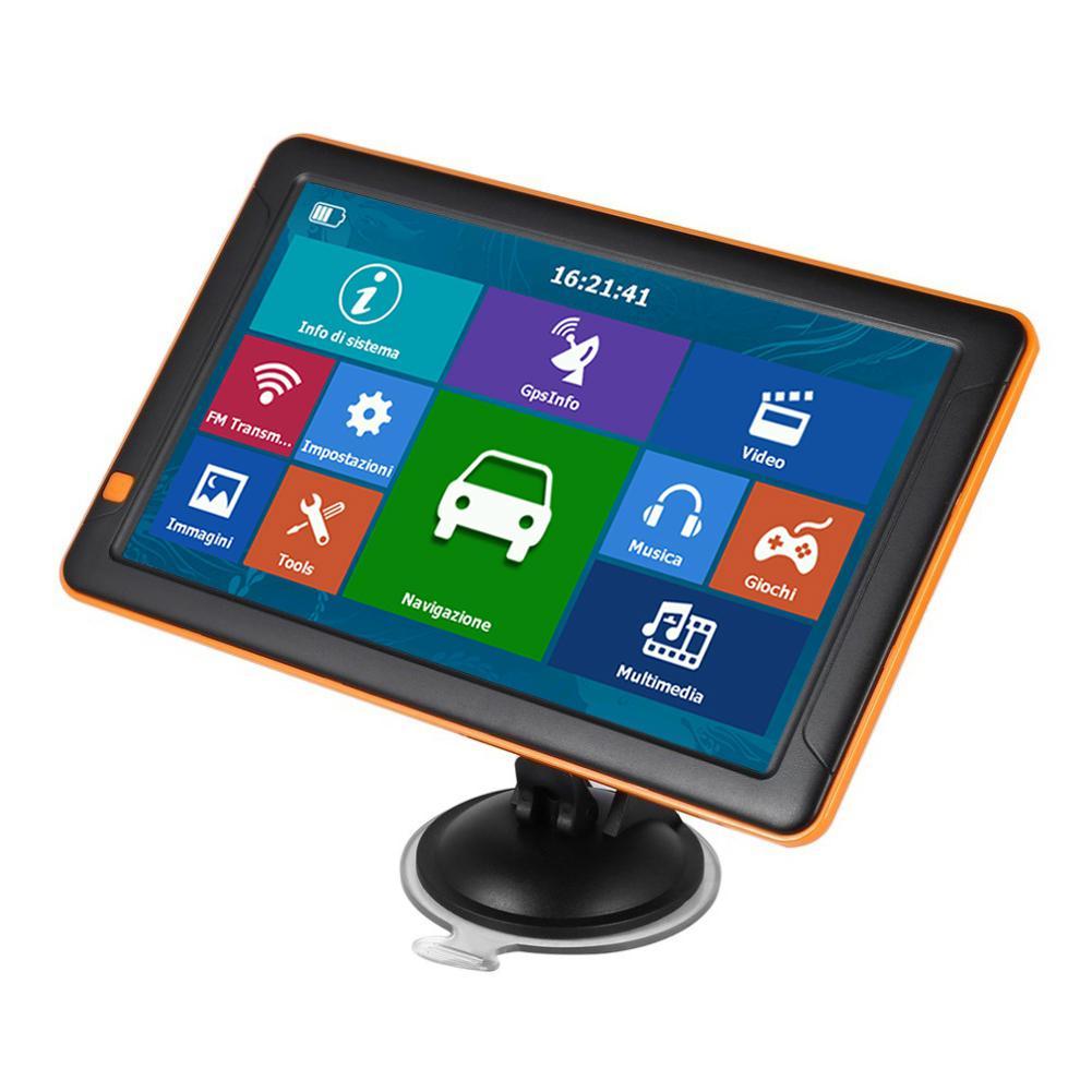 256 mo + 8G universel 9 pouces HD GPS voiture Navigation véhicule Gps Automobile navigateur voiture Auto accessoires pièces navigateurs