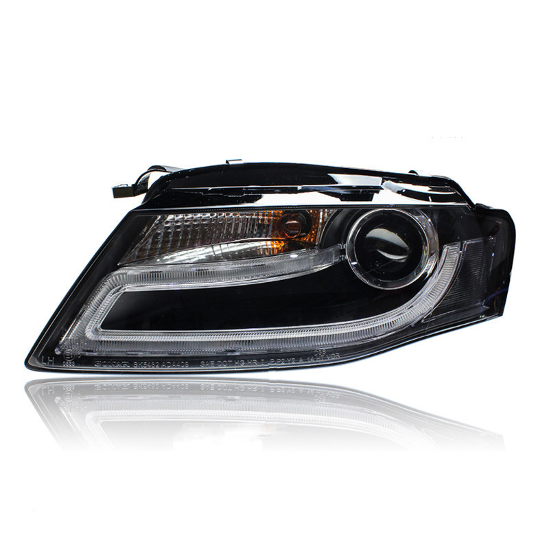 Ownsun светодиодные ДХО орлиный глаз спрятанный би-ксенон проектор Лен фара для Ауди A4 A4L 2009-2012