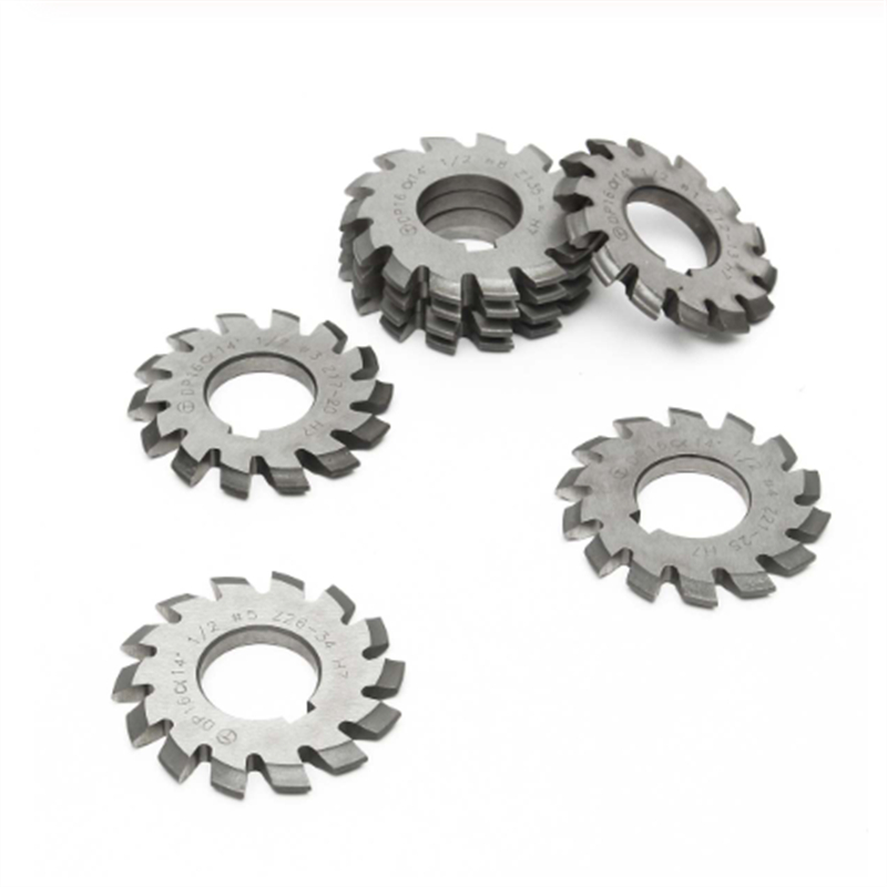 Image 3 - 8PCS NO.1 NO.8 M0.4 M0.5 M0.6 M0.7 M0.8 M1 M1.25 M1.5 M2 M3 M4 Modulus PA20 Degrees HSS Gear Milling cutter Gear cutting tools-in Milling Cutter from Tools