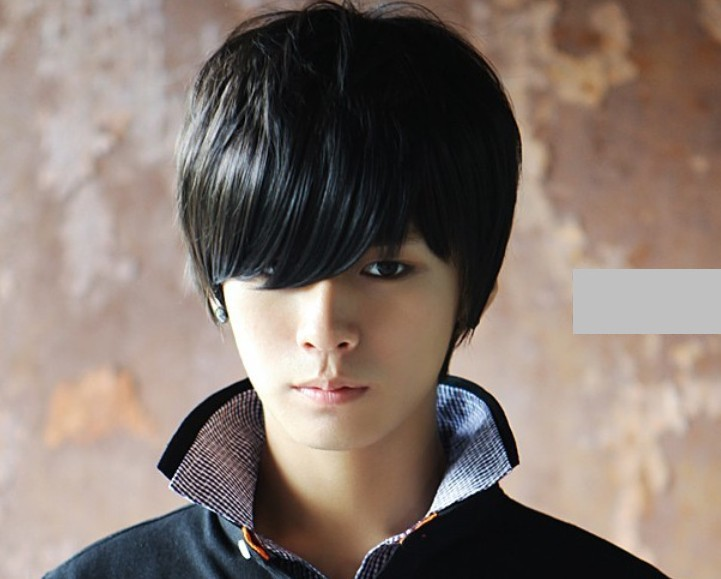 Korean Men And Boys With Short Hair Wig Wig Handsome