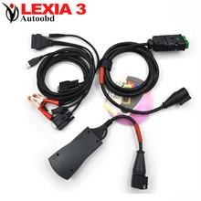 Высокое качество Lexia 3 + с из светодиодов кабель lexia3 pp2000 Diagbox ( V7.56 ) авто диагностический инструмент lexia3 pps2000 быстрая доставка по сп