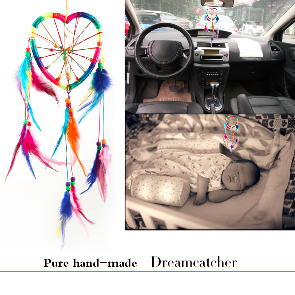 popular indian car decoration buy cheap indian car decoration lots handmade colorful car dreamcatcher wind chimes indian style feather pendant dream catcher hanging home decor drop