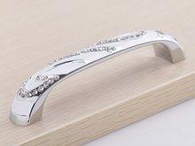 K9 Высокое качество хрусталя рукоятки двери шкафа нового ( cc. : 96 мм, Длина : 110 мм )