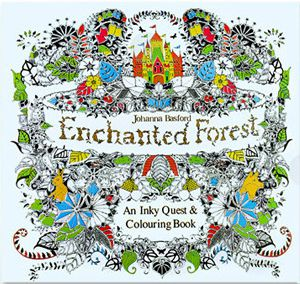 24 Pages Drawing Book Enchanted Forest English Edition Coloring Book For Childs Adult Relieve Stress Kill Time Painting