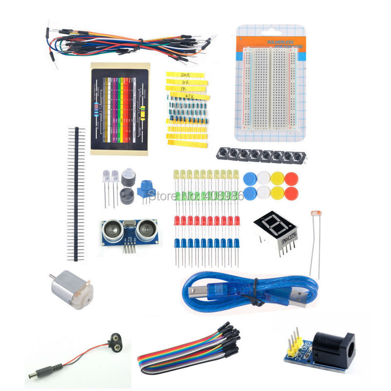 Starter Kit Solderless Experimental Electronics Kit For Beginners