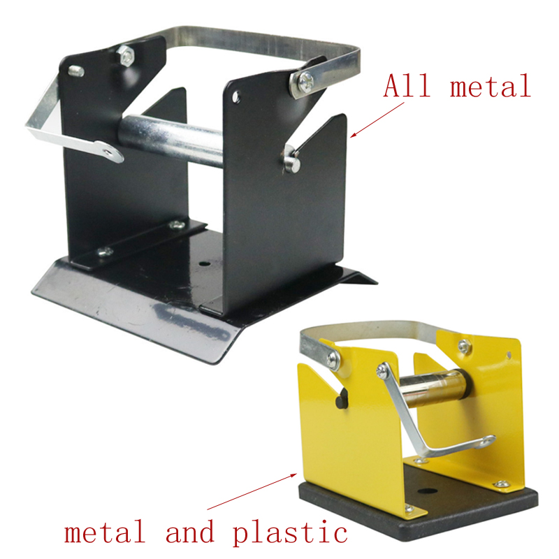 1pcs Tin Solder Wire Rack Line Frame Line Seat All Metal Plastic Tin Wire Welding Wire Bracket Holder
