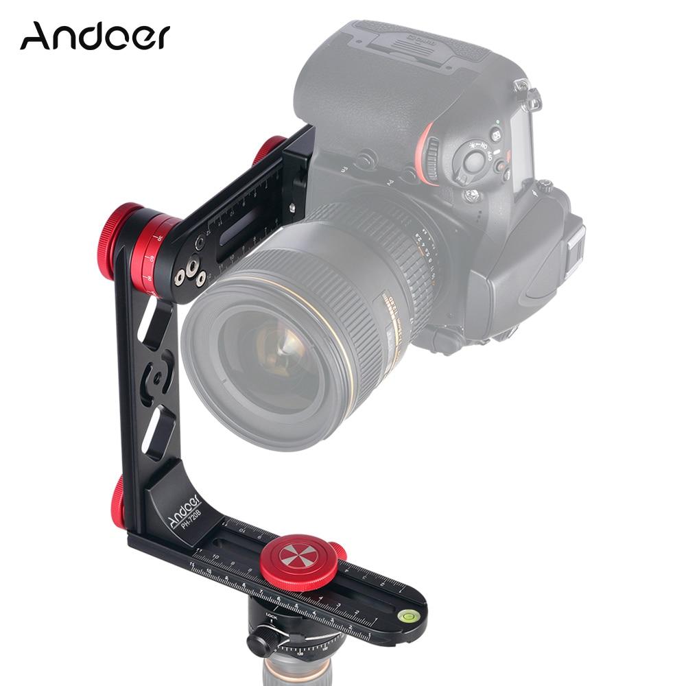Andoer PH 720B 720 Panoramic Head w Arca Swiss Standard Ball Head Quick Release Plate Carry