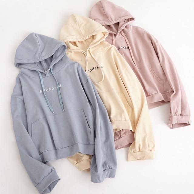 bts harajuku sweatshirt women autumn 2019 korean cute winter coat oversized  hoodie women fashion retro pocket pink hoodies women c241637a7