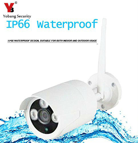 YobangSecurity Home Security Outdoor Waterproof IP 720P Wireless Wifi Camera with Motion Detection Alarm Infrated Night Vision 960p security cctv camera wifi wireless outdoor with 32gb sd card waterproof ir night vision motion detection phone remote home
