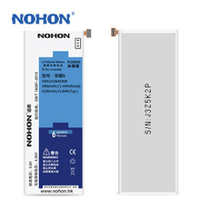 Top Quality NOHON Battery 3000mAh ~ 3100mAh For Huawei Honor 6 Replacement Bateria Machine Tools Gift