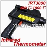 Digital IRT3000 Infrared Thermometer Professional Temperature Tester IR Temperature Laser Gun Range 400~1800 Degree Celsius