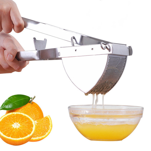 Stainless Steel Multi Mini Manual Juicers Mini Fruit Potato Grinders Juice Squeezer Manual Press Juicer Machine Extractor