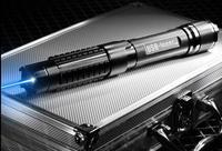 Mächtigsten Brennen Lazer Fackel 450nm 1000000 mt LED Taschenlampe Fokussierbar Blau Laser pointer Brennen papier + Brille + Geschenk jagd auf