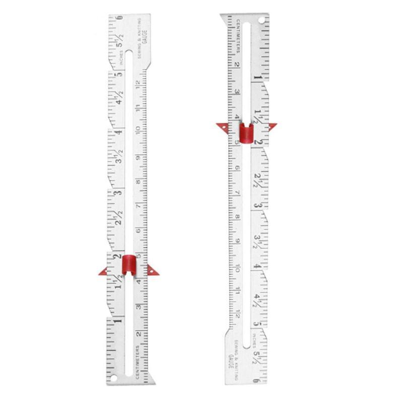 Plastic DIY Sewing Gauge Measuring Ruler Tool Sewing
