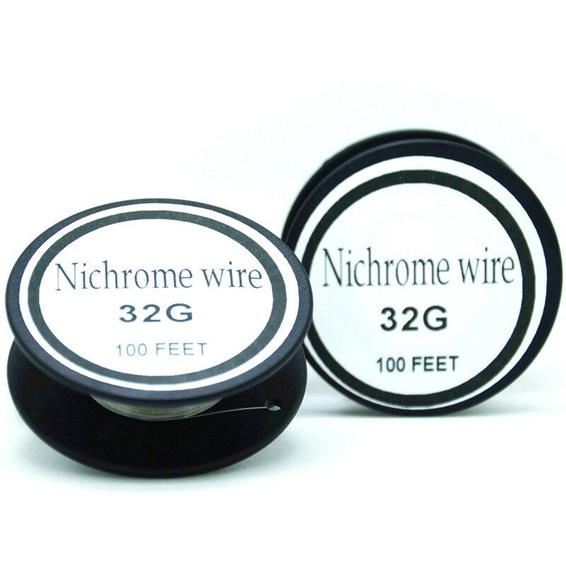 Nichromdraht 32 Gauge 60 serie 100 FT (0,2mm) (0,29 unze) Cantal ...