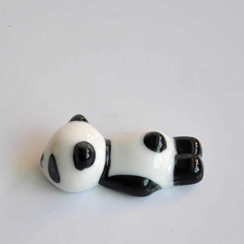 1 PC แปรงเล็บ PEN Rack ขาตั้งเซรามิคน่ารักแพนด้าเล็บเล็บเครื่องมือ Art น่ารักหมีน้อย penholder 3 รูปแบบ