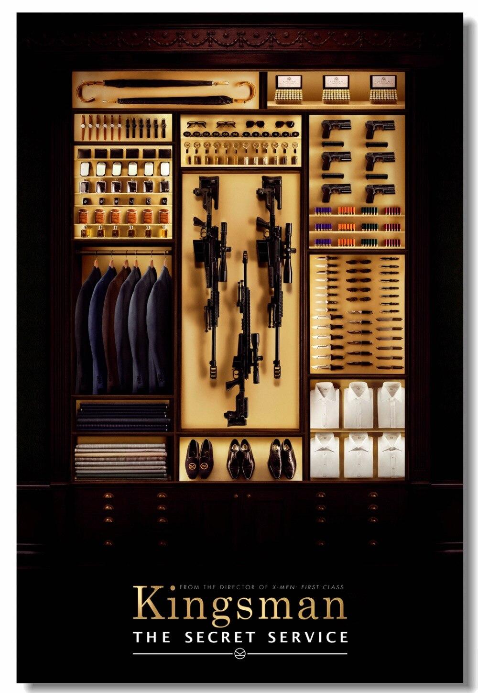 CANVAS Kingsman The Secret Service. Art print POSTER