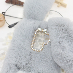 Image 4 - Rabbit Fur Cases For Samsung Galaxy A10 A20 A30 A40 A50 A70 M10 M20 M30 s10e s10 Plus 5G a80 a90 A01 S20 Ultra Note 20 Pro Cover