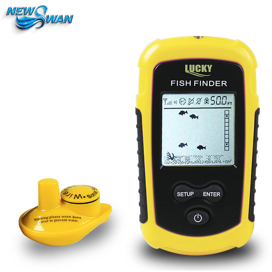 Fish Finder Sounder Wireless Sonar Fishing Underwater Camera Deeper Depth Probe For Detector Radar FFW1108-1 Fishfinder 1 pcs full range multi function detectable rf lens detector wireless camera gps spy bug rf signal gsm device finder