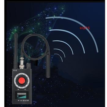K18 Multi-function Anti-spy Detector Camera GSM Audio Bug Finder GPS Signal Lens RF Tracker Detect Wireless Portable Finder