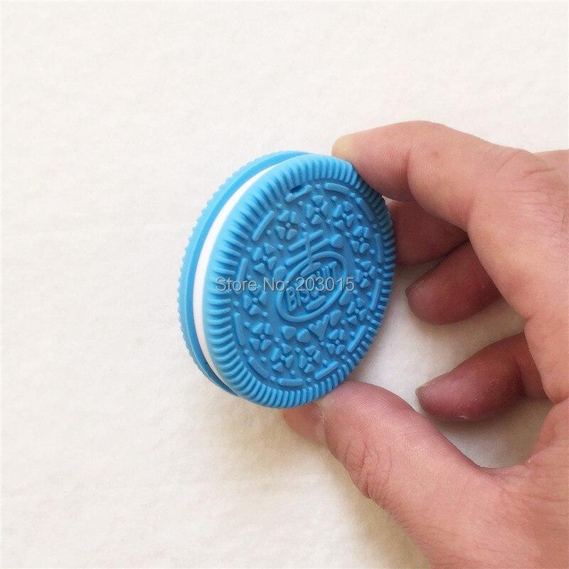 10 UNIDS BPA Libre de Silicona Galleta Colgante Mordedor Bebé - Alimentación - foto 4