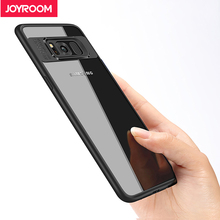 Joyroom Slim Case For Samsung Galaxy S8 plus Hard Transparent PC & soft Silicone TPU coque Back Cover Case For Samsung Galaxy S8