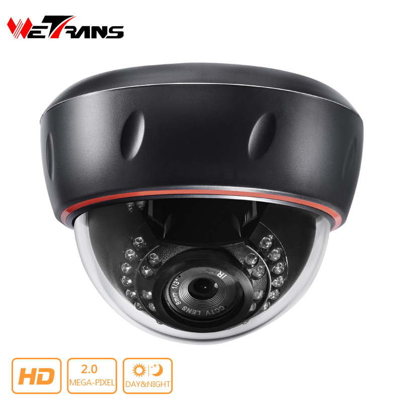 ФОТО AHD / TVI / CVI Security Cam SONY CMOS Sensor Plastic Dome 2.0Megapixel 20m Night Vision Smart Home 4 in 1 Hybrid CCTV Camera