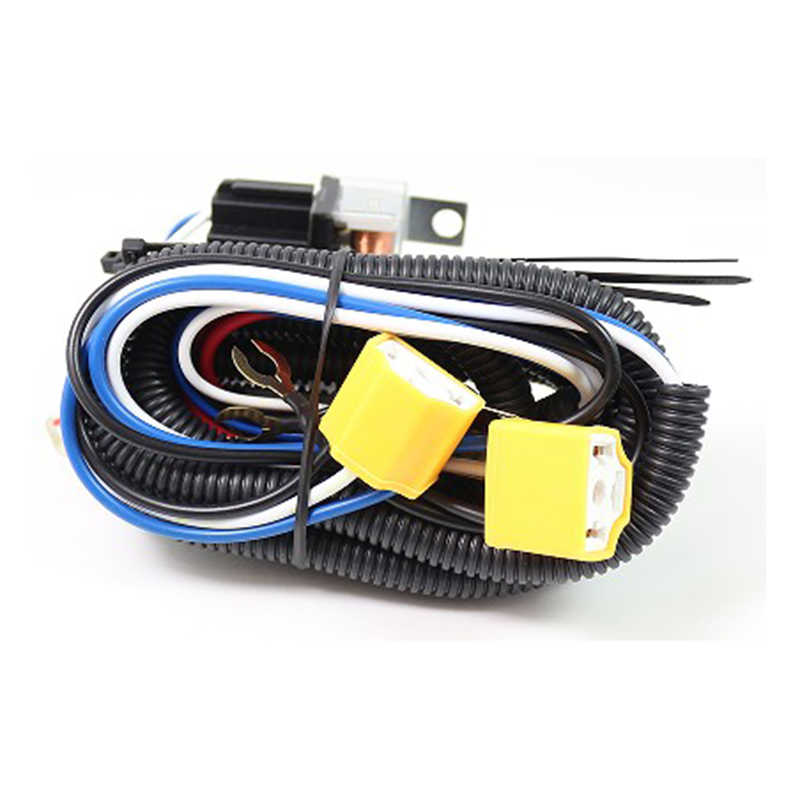 12v 60w car h4 headlight led light bar wire wiring harness. Black Bedroom Furniture Sets. Home Design Ideas