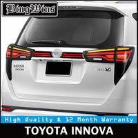 Автомобильный стиль задний фонарь для Toyota Innova светодио дный задний фонарь Crysta Taillamp со светодио дный светодиодным мигающим сигналом Новый