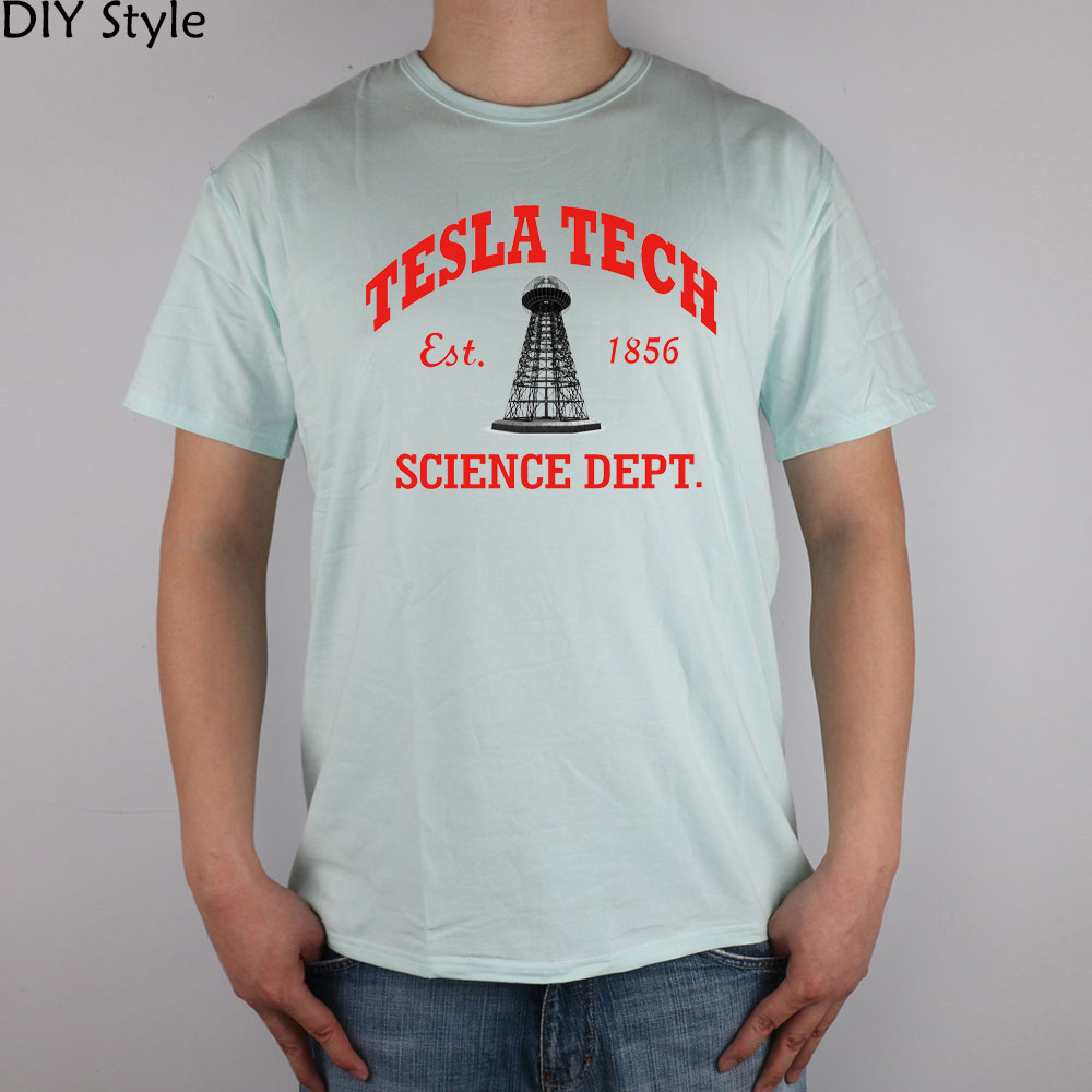 TESLA GWC KK TECH SCIENCE camiseta Top Lycra algodón Hombres - Ropa de hombre - foto 3