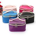2016 New Professional Cosmetic Case Bag Portable Women Makeup Cosmetic Bags Storage Travel Necessary Bags