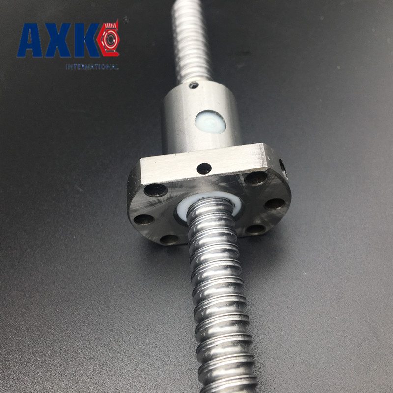 2017 Promotion New Rodamientos Bearing Rm1204 Ball Screw Sfu1204 L= 440mm Rolled Ballscrew With Single Ballnut For Cnc Parts 4pcs new for ball uff bes m18mg noc80b s04g