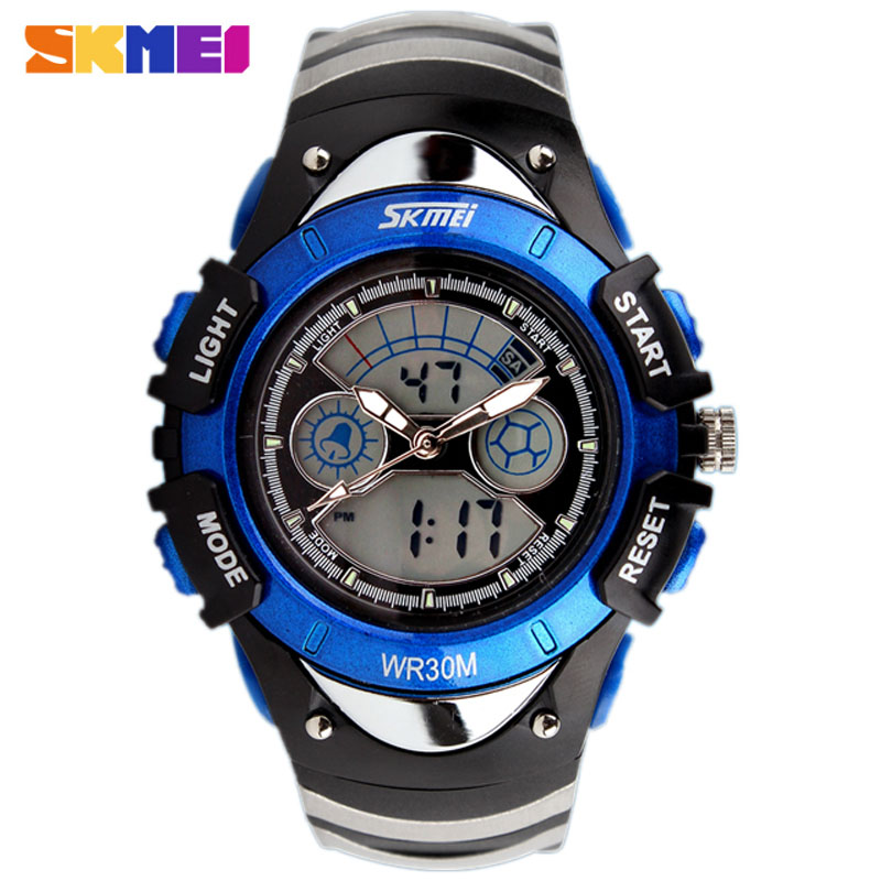 New Fashion SKMEI Brand Children Sports font b Watches b font LED Digital Quartz Military font