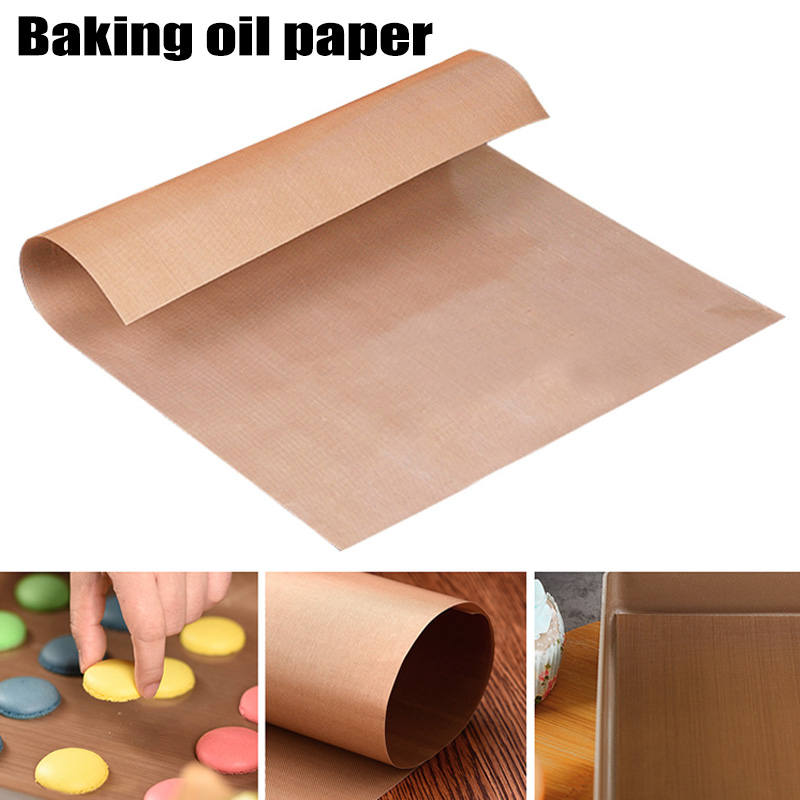 Kitchen,dining & Bar Humor High Tempreture Heat Resistant Baking Teflon Mat Cooking Bbq Sheet Anti-oil Linoleum Oil Paper Pastry Kitchen Bakeware Tools