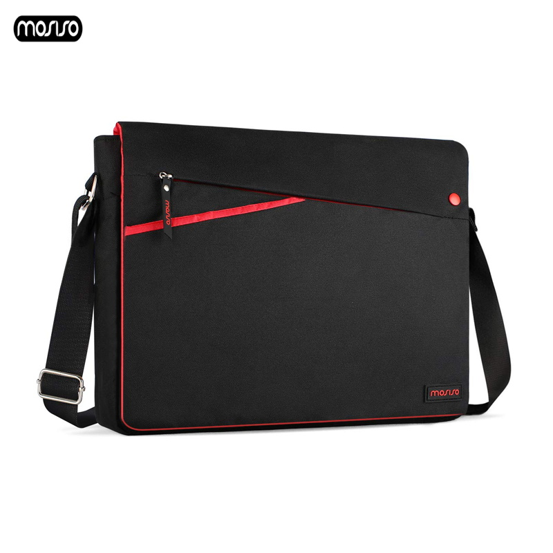 MOSISO Men Laptop Bag for Macbook Air Pro Retine 11 13 15 inch Waterproof Notebook Shoulder Bag Briefcase Casual Messenger Bags in Laptop Bags Cases from Computer Office