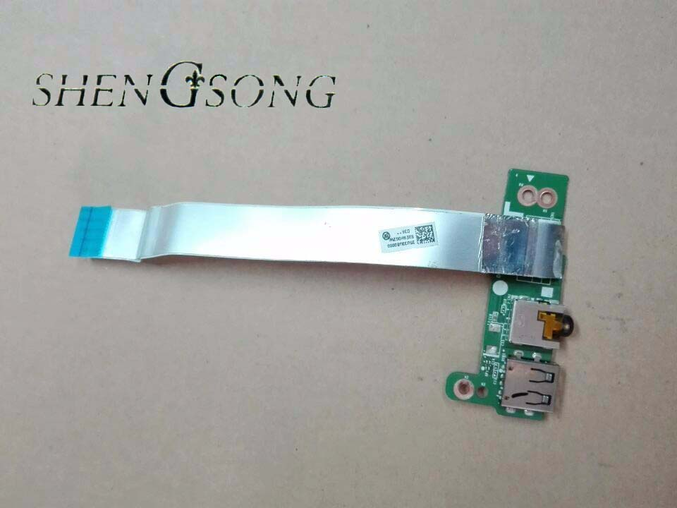 Free shipping new original laptop USB board audio board sound board with cable for HP Pavilion 14-C 14-b DA0U33TB6D0 697902-001