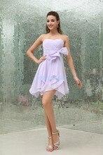 free shipping 2013 new design vestidos formale handmade brides maid dresses custom size/color short white Bridesmaid Dresses
