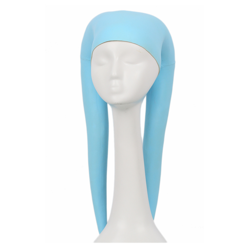 X-COSTUME Star Wars Twi'lek Headgear Sky Blue Latex Helmet Cosplay Costume Accessories Props Halloween Masquerade Party Helmet