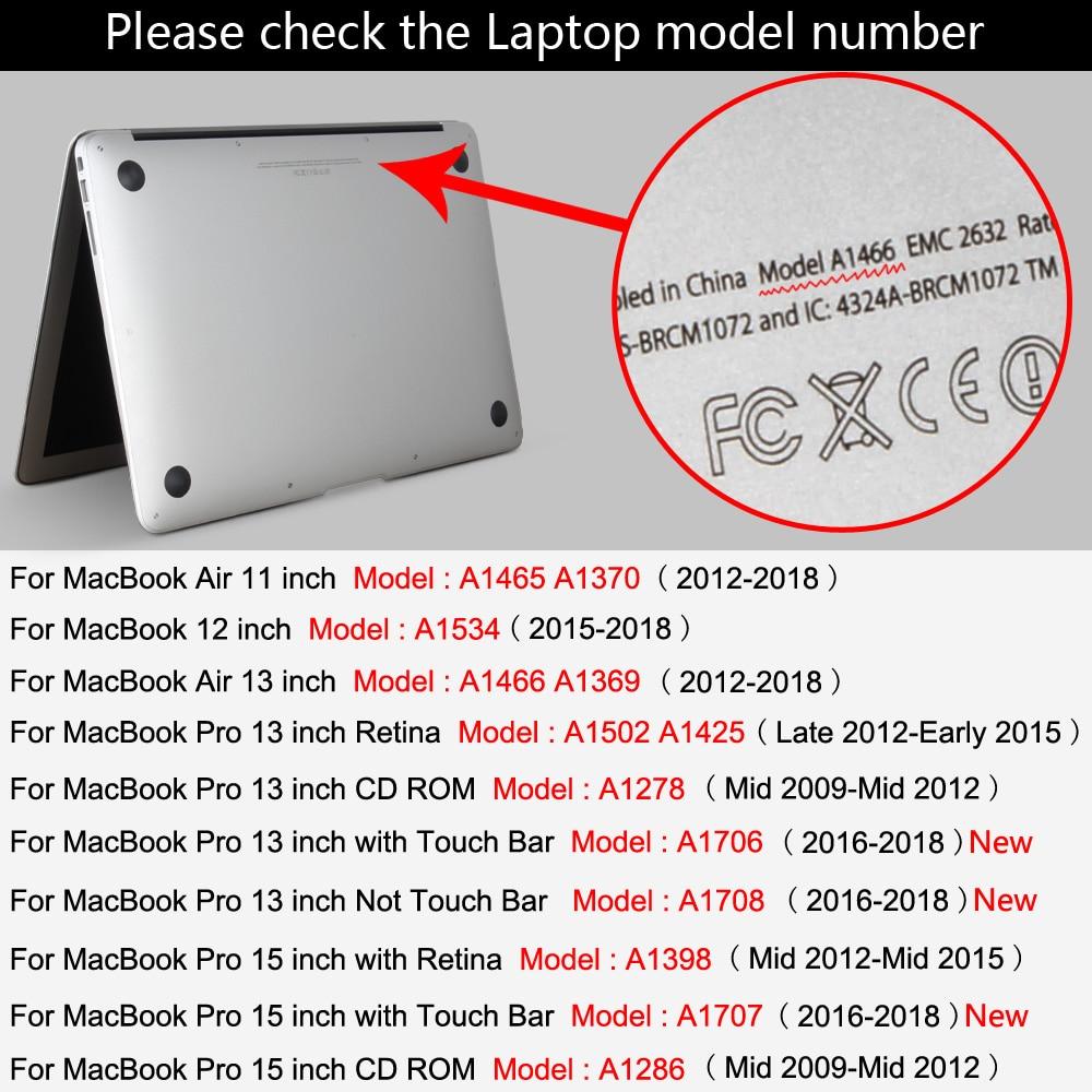 Apple macbook üçün dondurulmuş mat rəngli noutbuk qutusu 11 12 - Noutbuklar üçün aksesuarlar - Fotoqrafiya 6