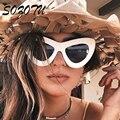 SOZOTU Moda Olho de Gato Óculos De Sol Das Mulheres Óculos de Sol Das Senhoras Do Vintage Retro Marca Designer Para Mulheres Fotocromáticas Óculos YQ001