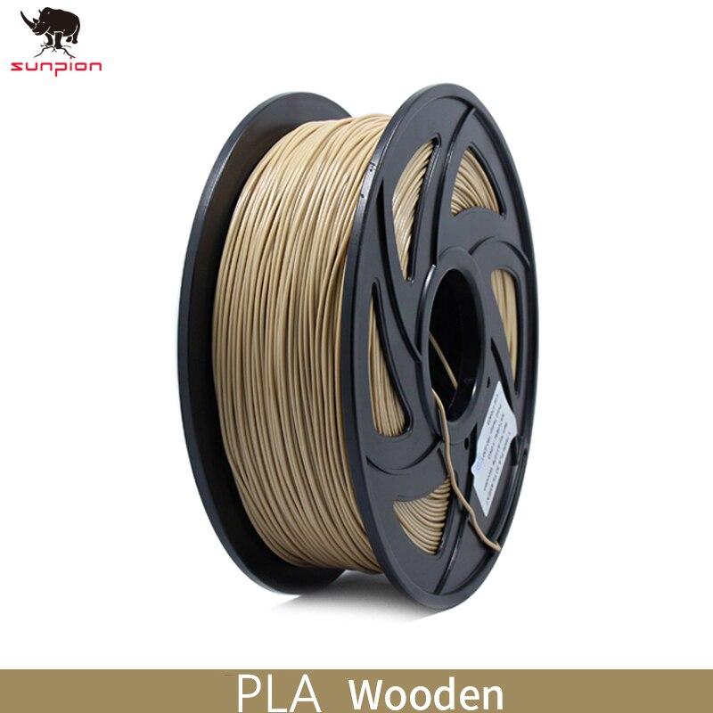 Filament de PLA d'imprimante 3D 1.75mm précision dimensionnelle de Filament +/-0.02mm 1KG 343M 2.2LBS matériel d'impression 3D pour imprimante 3d