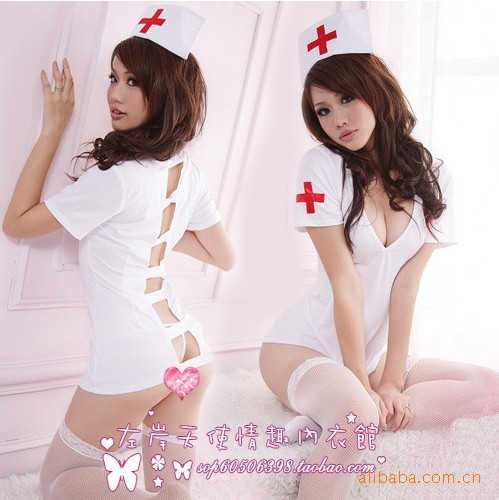 Buy 2017 Lace Babydoll Erotic Lingerie Case Nurses Taiwan Version Sexy Lingerie New Card Set Wholesale C304