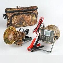 2 pièces 60W haut parleurs chasse leurre pour canard oiseau appelant sons piège chasse oiseau appareil électronique mp3 oiseaux lecteur étanche