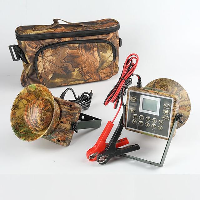 2pcs 60W การล่าสัตว์ Decoy เป็ด Bird Caller เสียงดักล่าสัตว์อุปกรณ์ Electronics mp3 นกผู้เล่นกันน้ำ