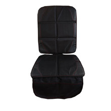 45.5x120CM Anti-Slip Car Seat Cover Car Seat Mat Protector for Baby Kid Child - Black(China)