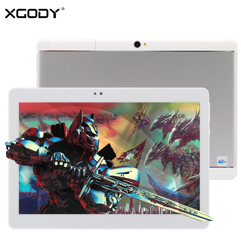 NEW XGODY S107 10 1 Inch 4G LTE Phone Call Tablet Dual Sim 2GB 16GB Android