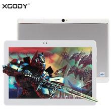 NUEVA XGODY S107 10.1 Pulgadas 4G Tableta de la Llamada de Teléfono de Doble Sim 2 GB + 16 GB Android 6.0 MTK6735 Quad Core 1920*1200 IPS de 10 pulgadas Tablet